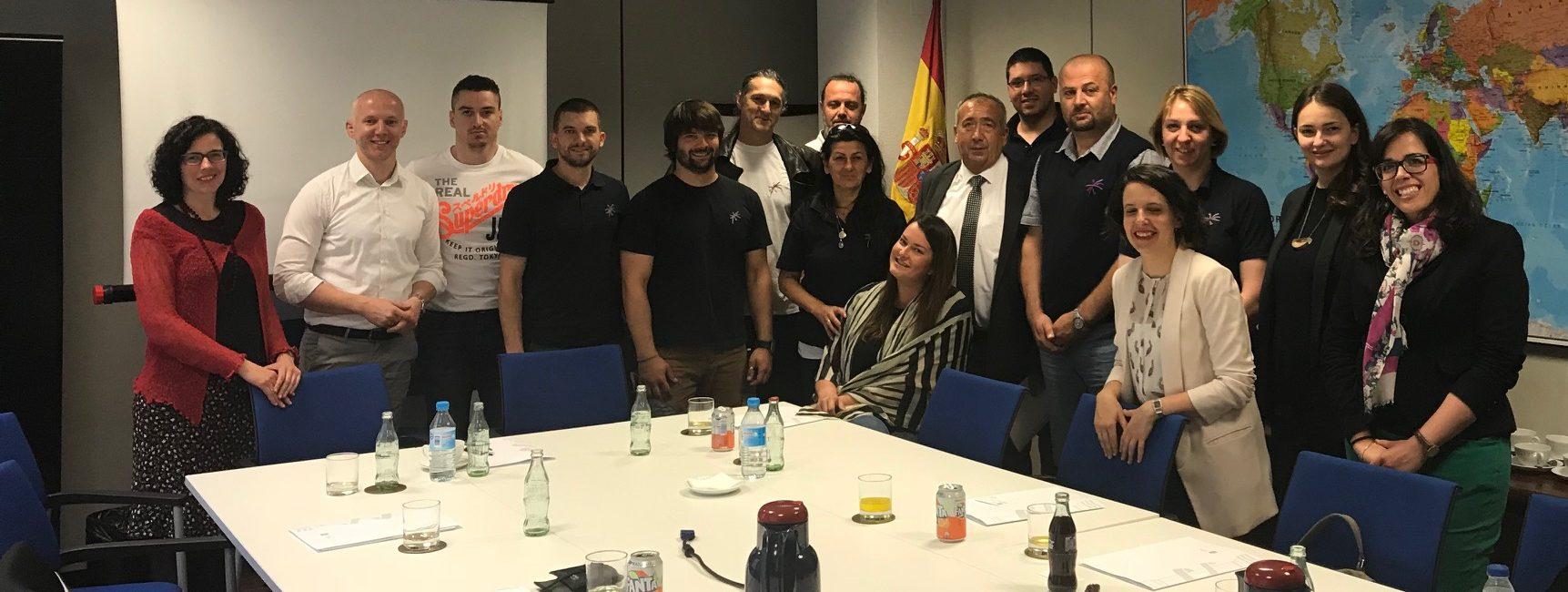 Studijska poseta španskim institucijama koje se bave azilom
