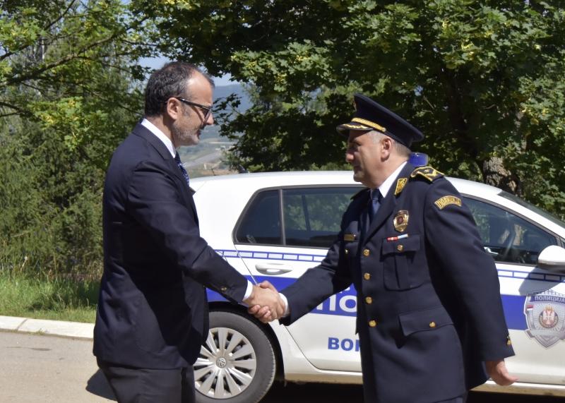 Sem Fabrizi visiting Pirot