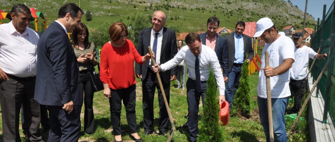 Predstavnici Delegacije Evropske unije, Republike Srbije i implementacionih partnera u poseti Tutinu