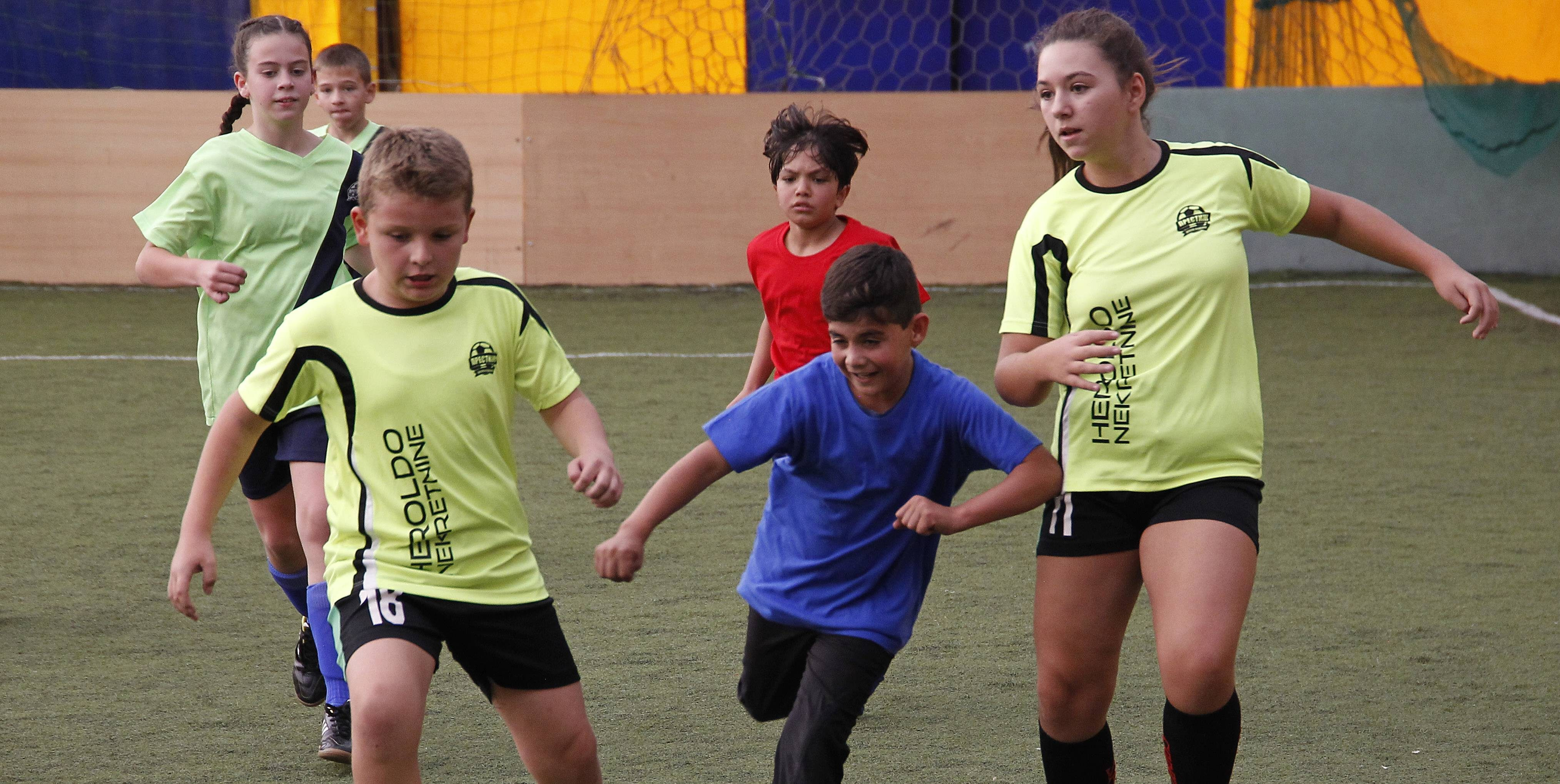 """Tournament of Friendship"" between Migrant and Local Children Held in Vranje"