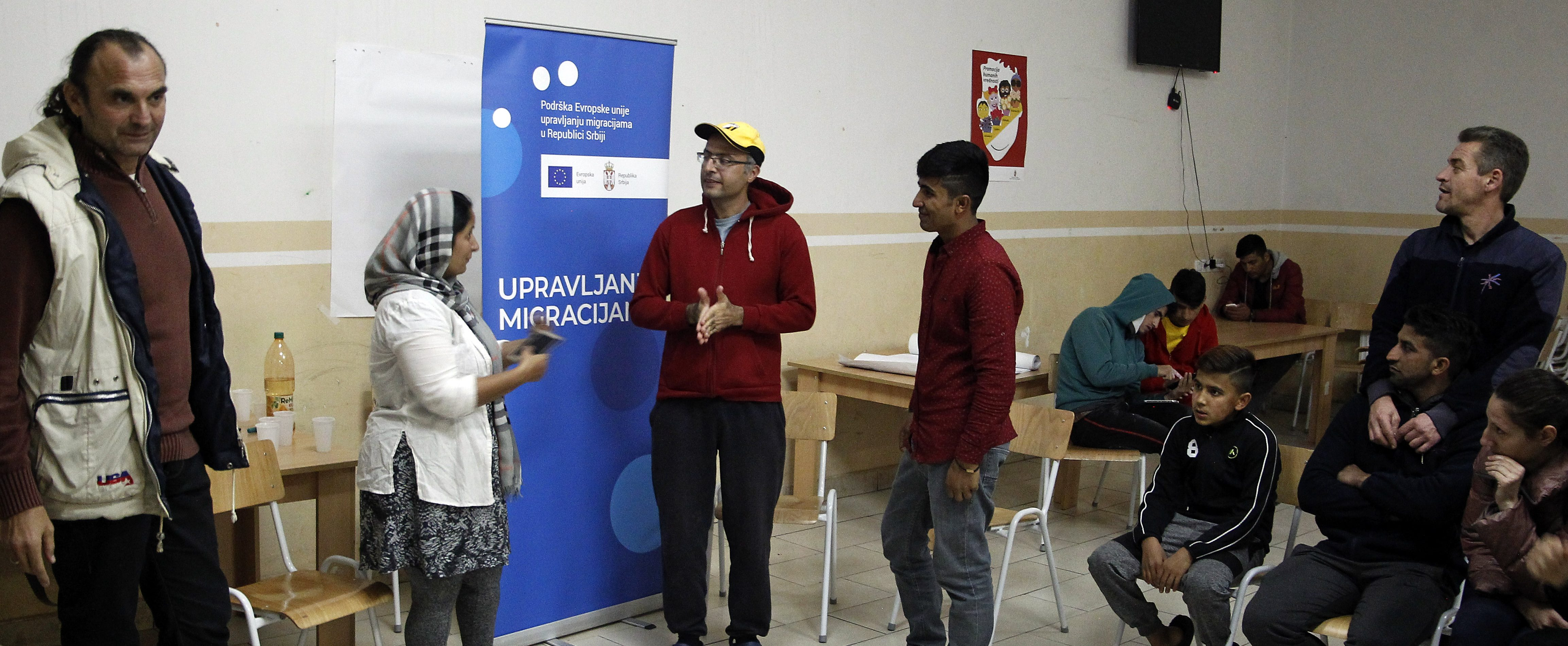 "Workshop ""There, far away"" held in Sjenica and Tutin"