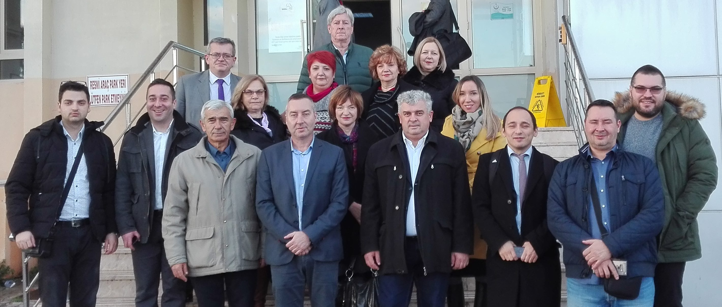 Study visit to Turkey for representatives from Pirot, Vranje and Sid