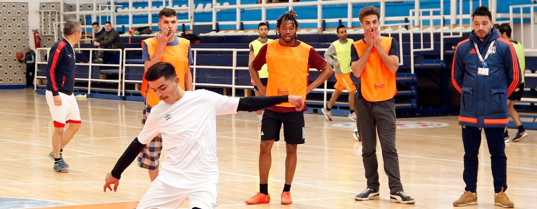 Migrants from Bujanovac took part in futsal tournament