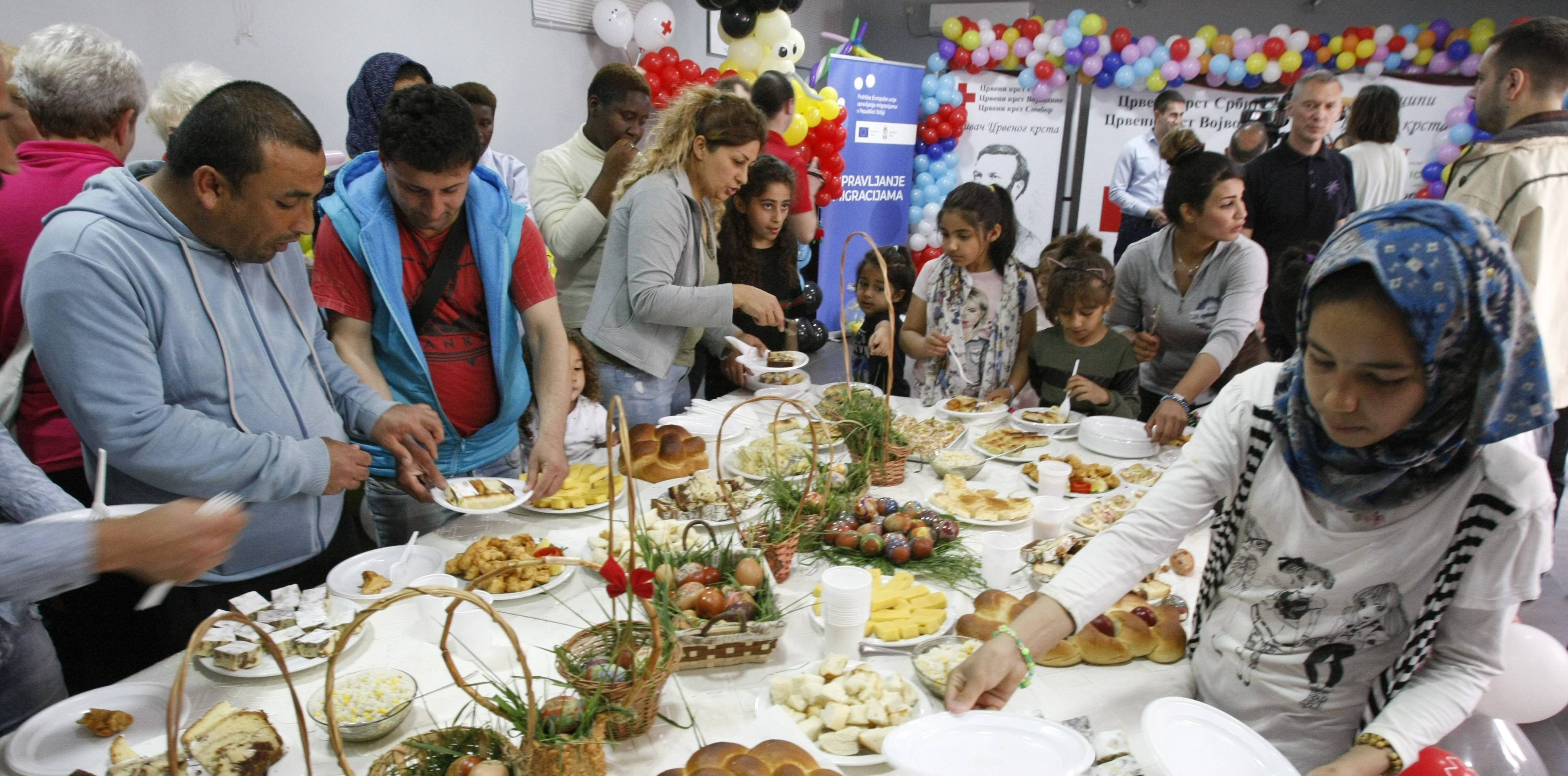 Event organized in Sombor to mark the upcoming Easter holidays