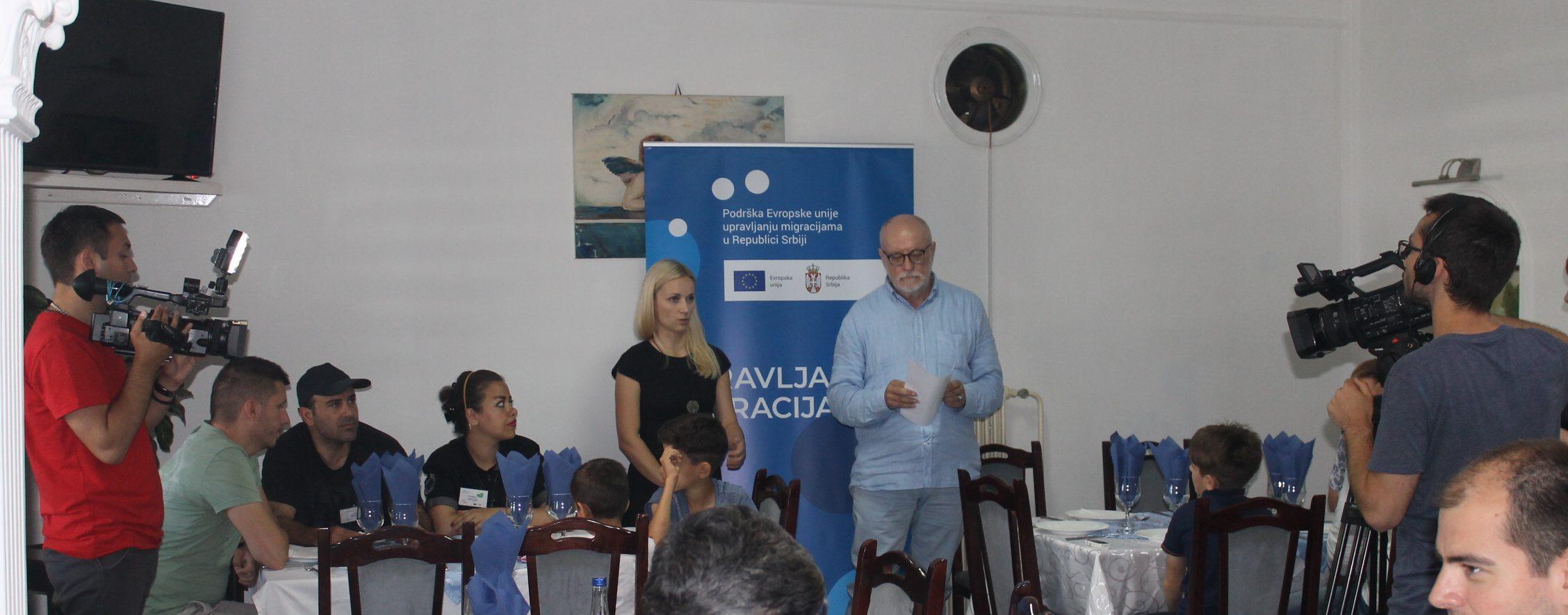 "Activities under the slogan ''Celebrating diversity"" presented in Šid"