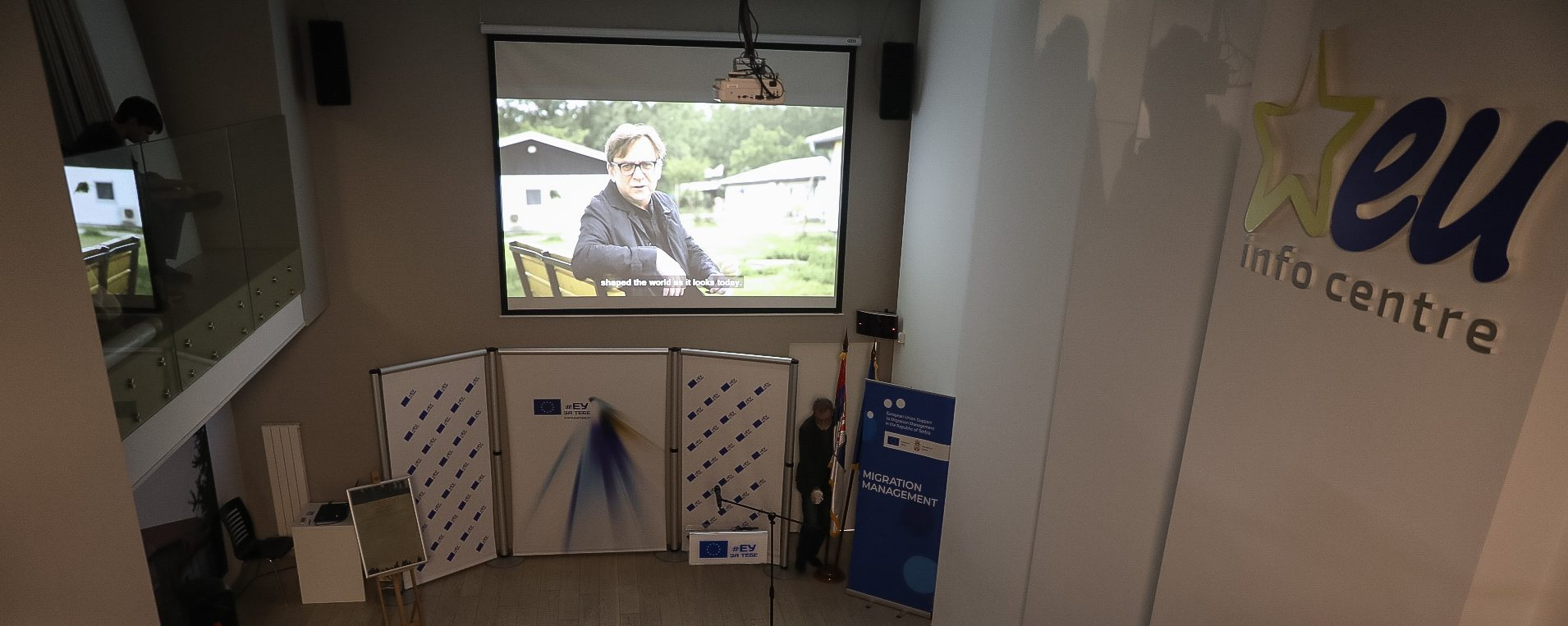 "The movie ""Close(d)"" screened at the EU Info Center in Belgrade"