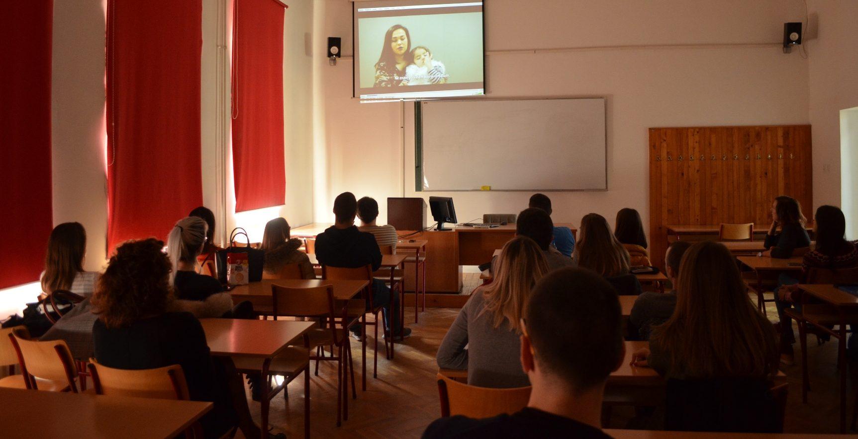 """Održana projekcija filma """"CLOSE(D)""""za studente Geografskog fakulteta"""