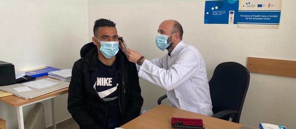Za migrante obezbeđena kompletna zdravstvena zaštita