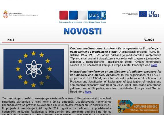 PLAC III Novosti