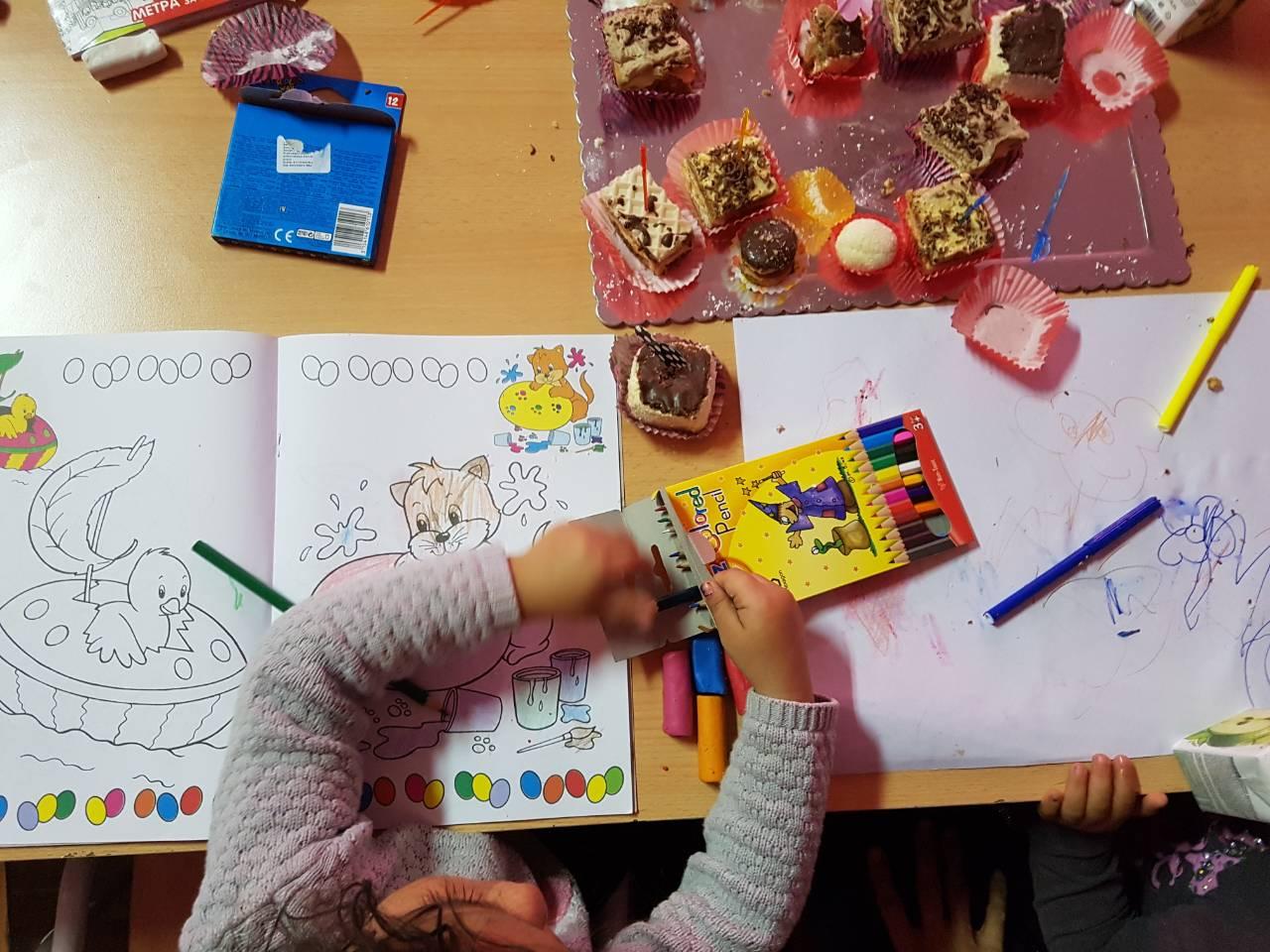 Održana kreativna radionica za mališane u CA u Sjenici