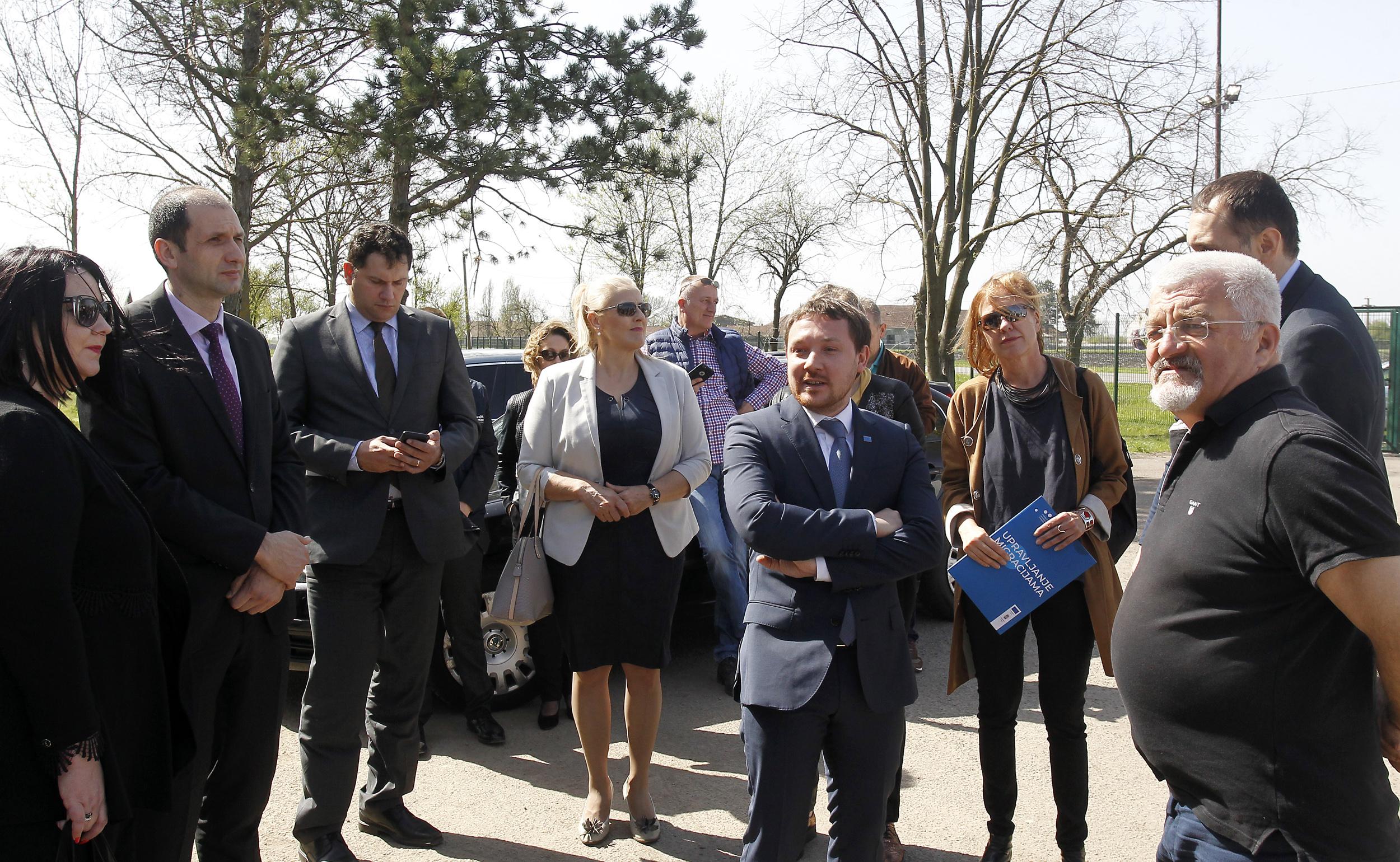 Predstavnici Delegacije EU, UN agencija i države u poseti Kikindi