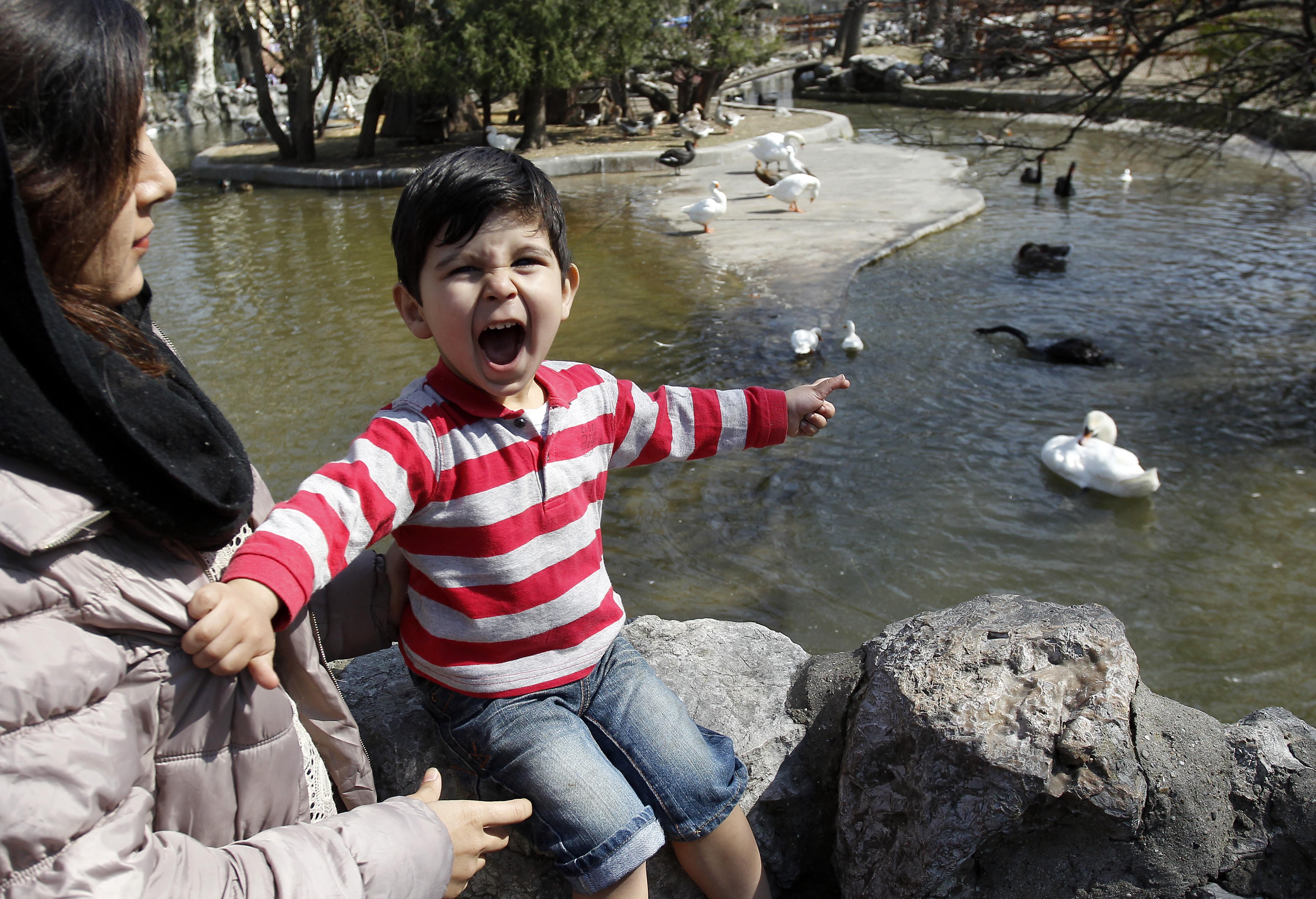 Migranti iz CA Bogovađa u poseti ZOO vrtu