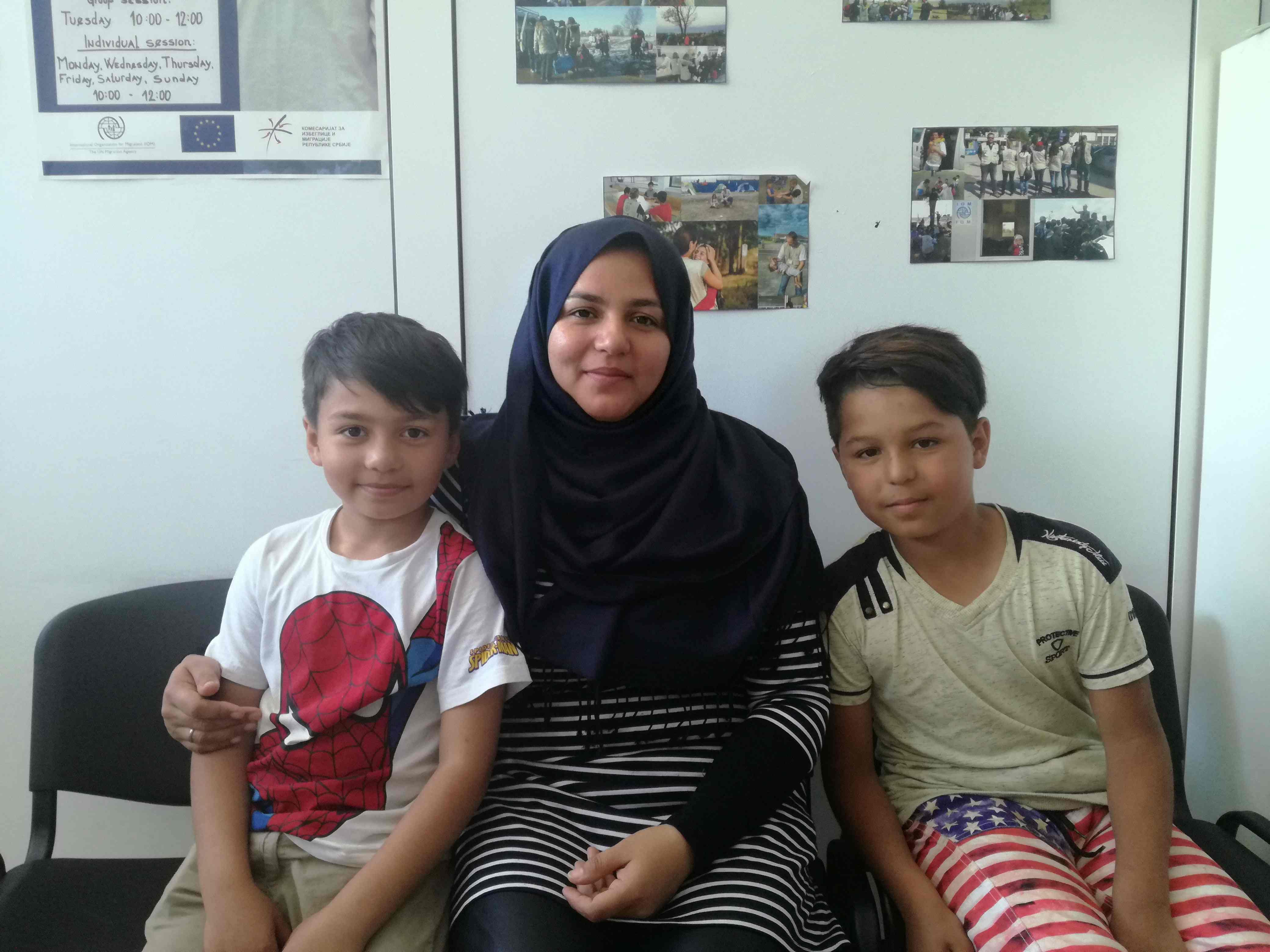 Prevoz dece migranata u osnovne škole u Srbiji