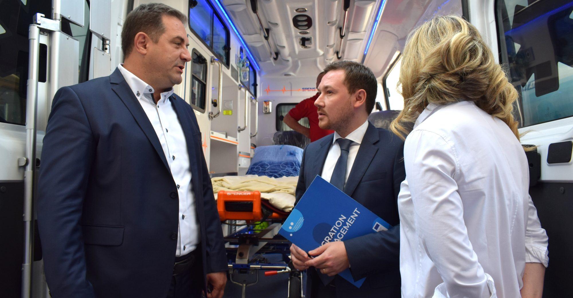 Pomoć Evropske unije za građane Sjenice i migrante