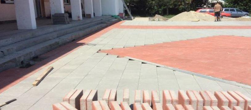 Novo školsko dvorište za osnovce u Banji Koviljači
