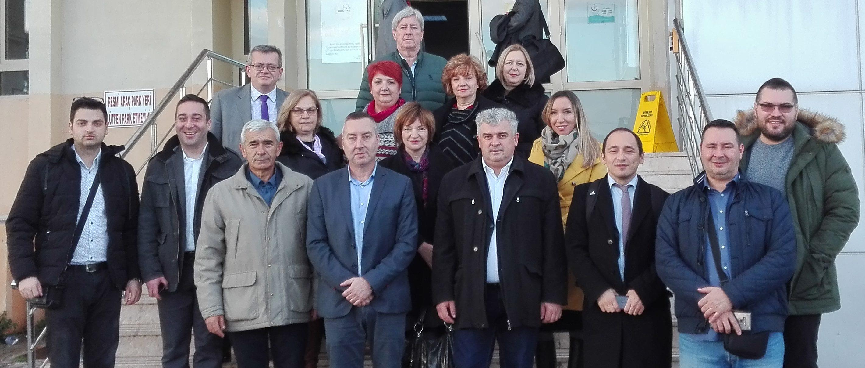 Studijska poseta Turskoj za predstavnike iz Pirota, Vranja i Šida