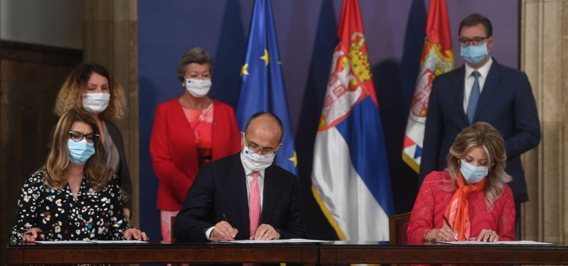 Potpisan ugovor za nastavak Podrške EU upravljanju migracijama u Srbiji
